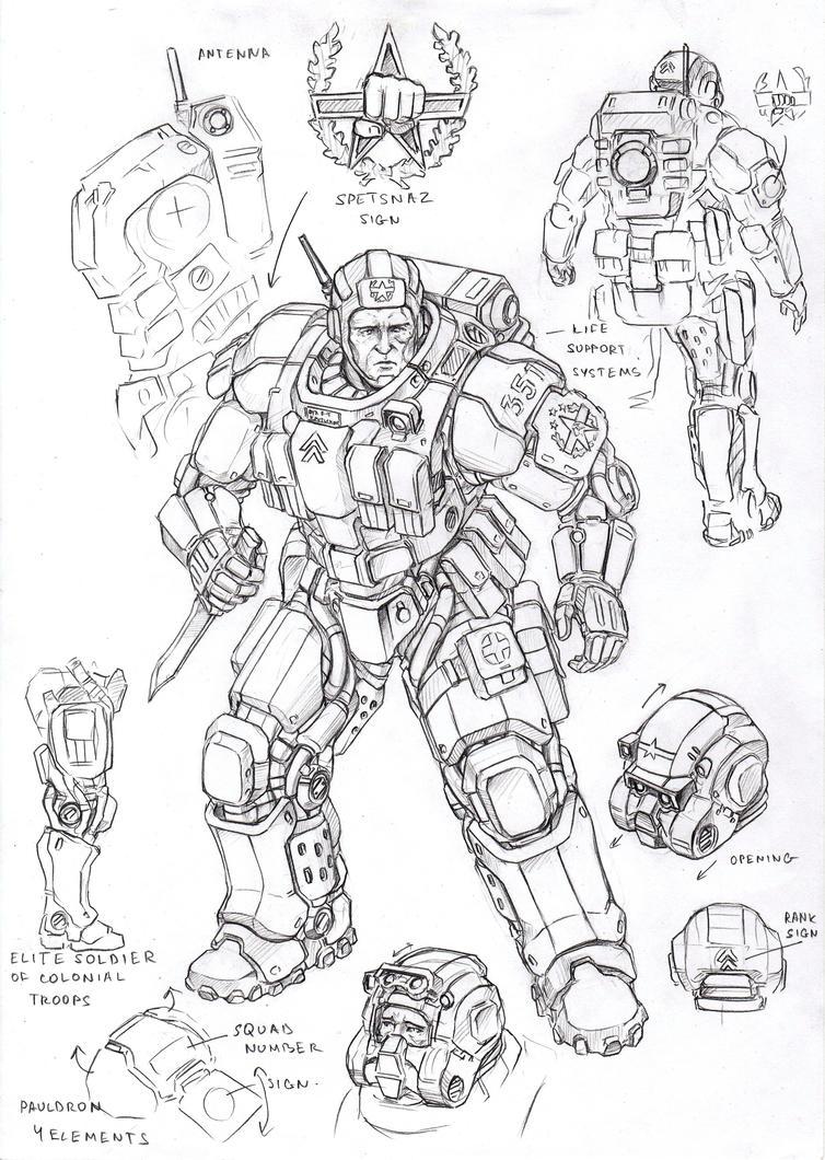 UC elite soldier1 by TugoDoomER