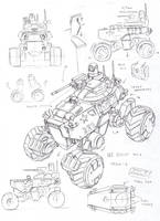 UC SCOUT vehicle by TugoDoomER