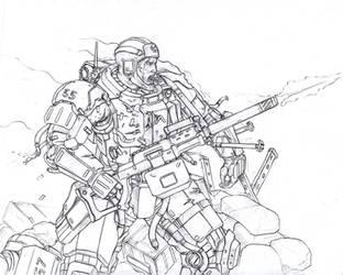 Machinegunner by TugoDoomER