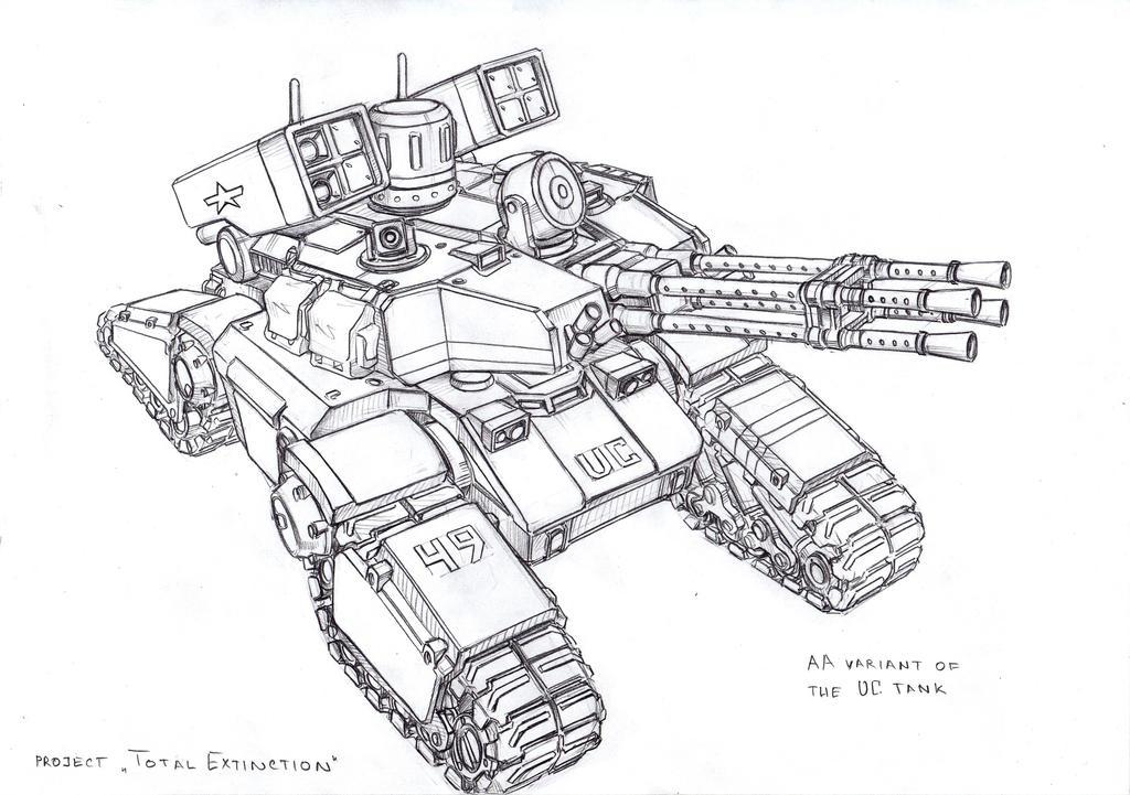 AA UC tank by TugoDoomER
