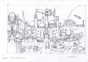 Theocracy city sketch