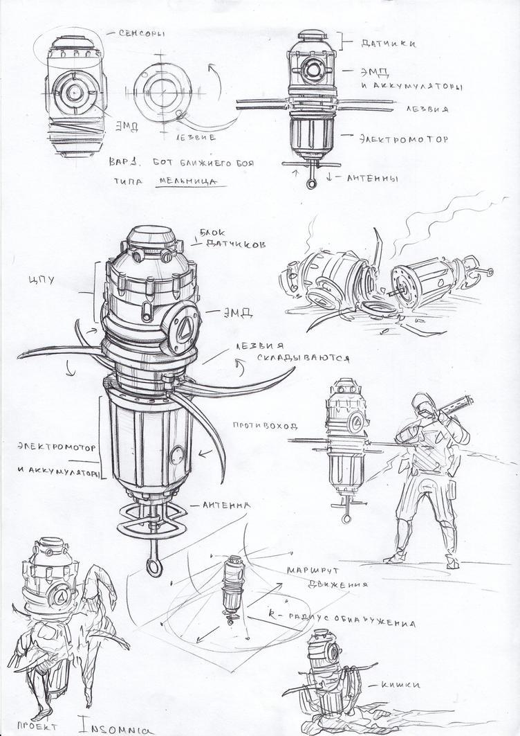 grinder bot by TugoDoomER