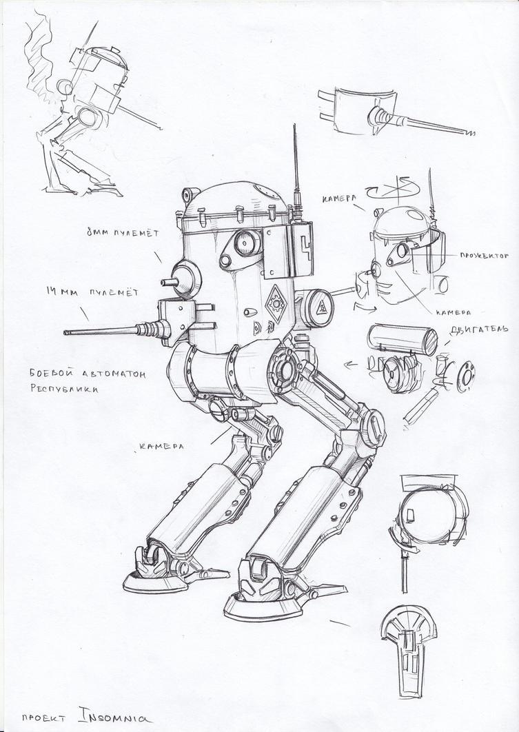 battle automaton by TugoDoomER