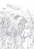Interbellum - left side of the battlefield by TugoDoomER