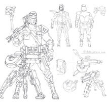 Combat engineer by TugoDoomER