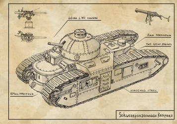 heavy tank Kronprinz by TugoDoomER