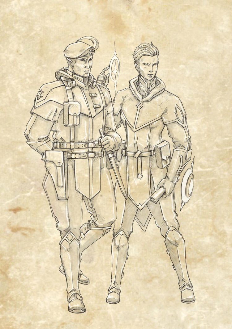Interbellum - elves by TugoDoomER