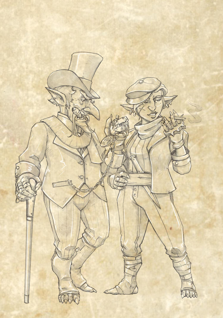 Interbellum - goblins by TugoDoomER