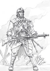 Alliance Death Squad trooper (upd) by TugoDoomER