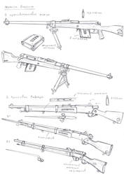Alliance items: Lefer rifle and Stern AT rifle by TugoDoomER