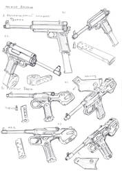 Alliance items: Fromm SMG and Berg pistol by TugoDoomER