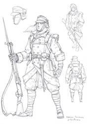 Rosalian riflewoman by TugoDoomER