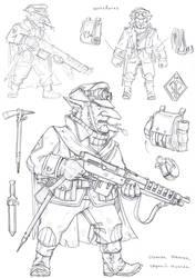 Istalian rifleman by TugoDoomER