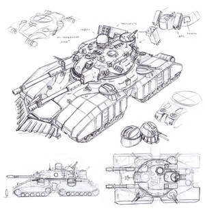 Soviet Bastion super-heavy tank