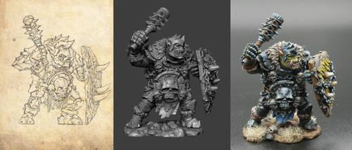 Garr Iron Handed by TugoDoomER