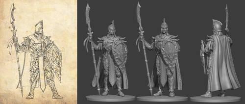 Anninomis elf warrior by TugoDoomER