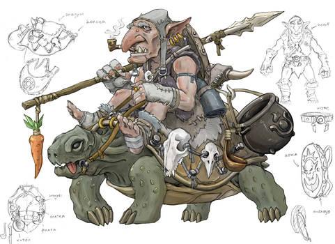 Turtle rider