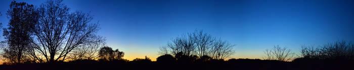 Omaha Fall Sunset