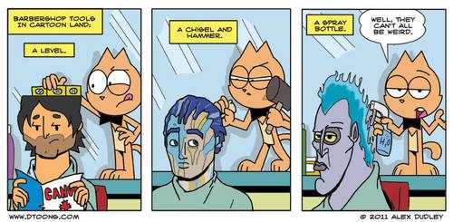 Conroy Cat: Follicle Follies by Doodley