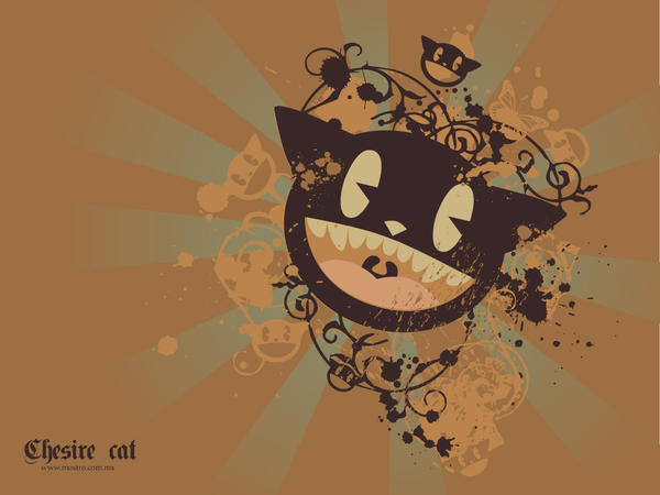 chesire cat by mictlantectli