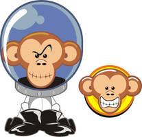 monkey by mictlantectli
