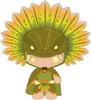 Quetzalcoatl hombre by mictlantectli