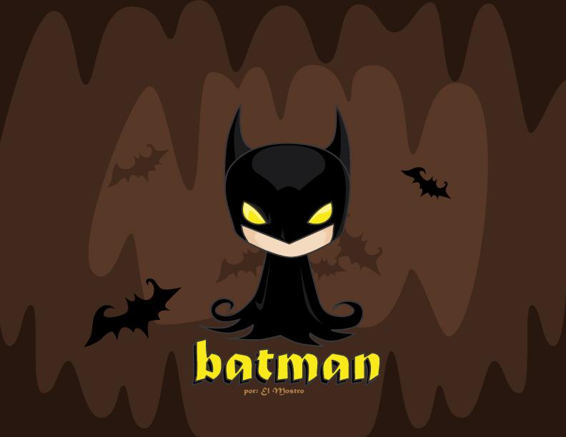 Batman cute by mictlantectli on DeviantArt