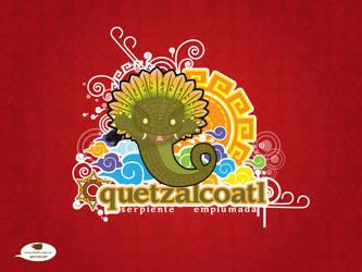 quetzalcoatl al sol by mictlantectli