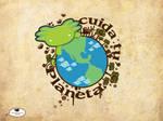 Cuida el planeta by mictlantectli