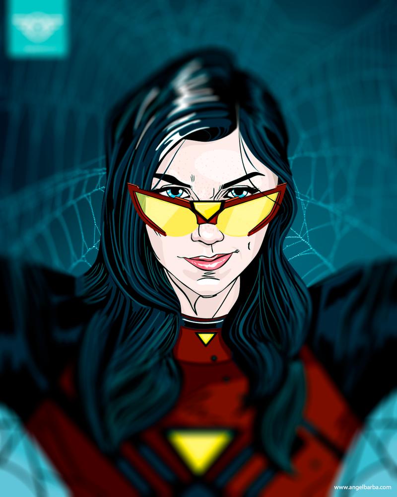 Spider Woman by mictlantectli