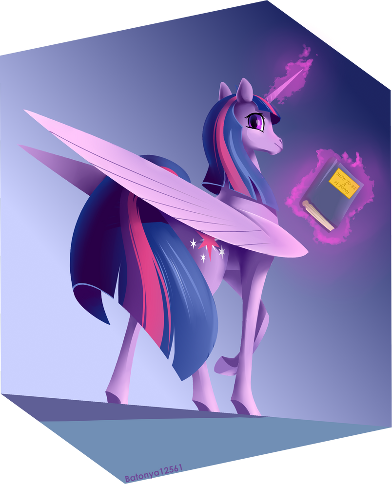 yet_another_twilight_sparkle_art_by_bato