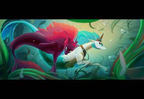 Confused underwater by Batonya12561