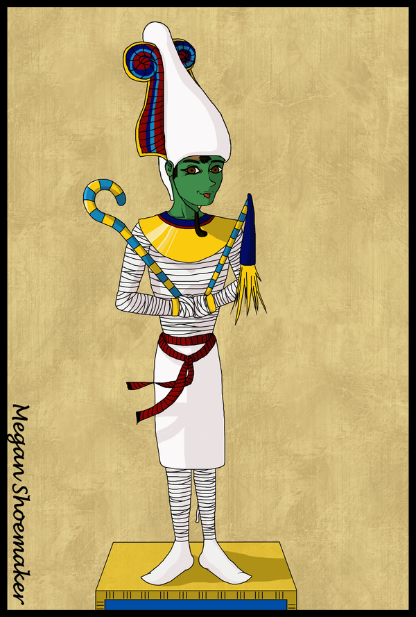 Egyptian God, Osiris by mmshoe on DeviantArt