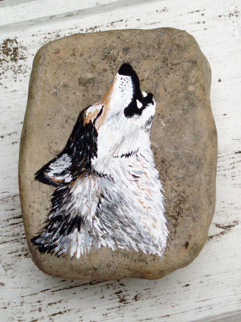 Rock: Grey Wolf by mmshoe
