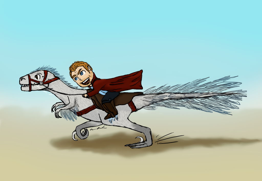 Star Lord Dino Rider by mmshoe