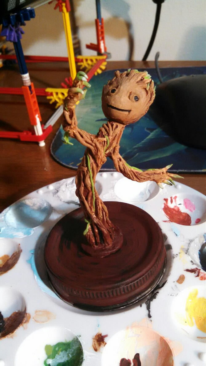 Baby Groot by mmshoe