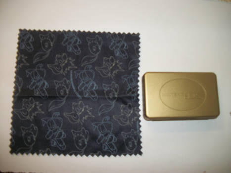 HGSS DS Cloth+Extra gold case