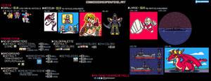 Detailed Commission Sheet - Pixel Art