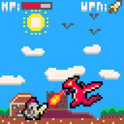Pixel Art Commission Sample - Pseudo-screenshot