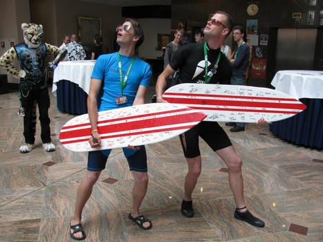 Surfer 'Flashmob'
