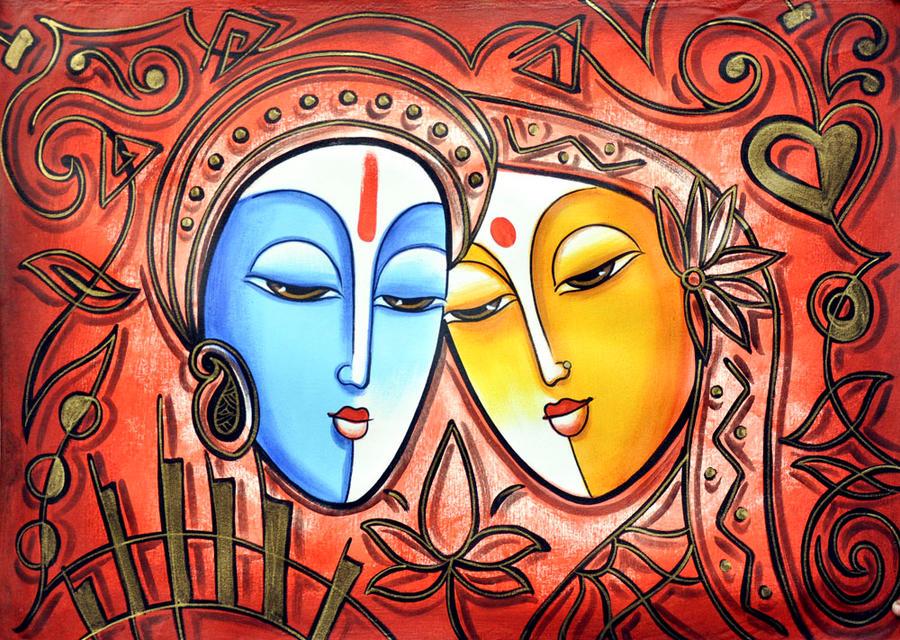 Radha Krishnas Love By ArtsNyou