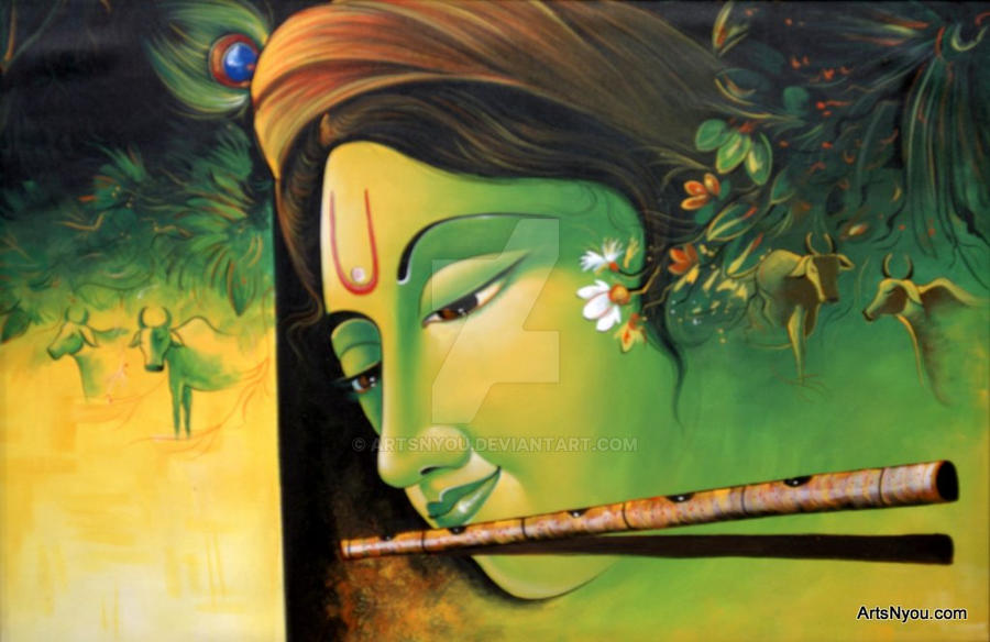 Latest Popular Krishna with bansuri Wallpapers for free download