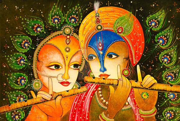 radha krishna hd wallpaper for mobile