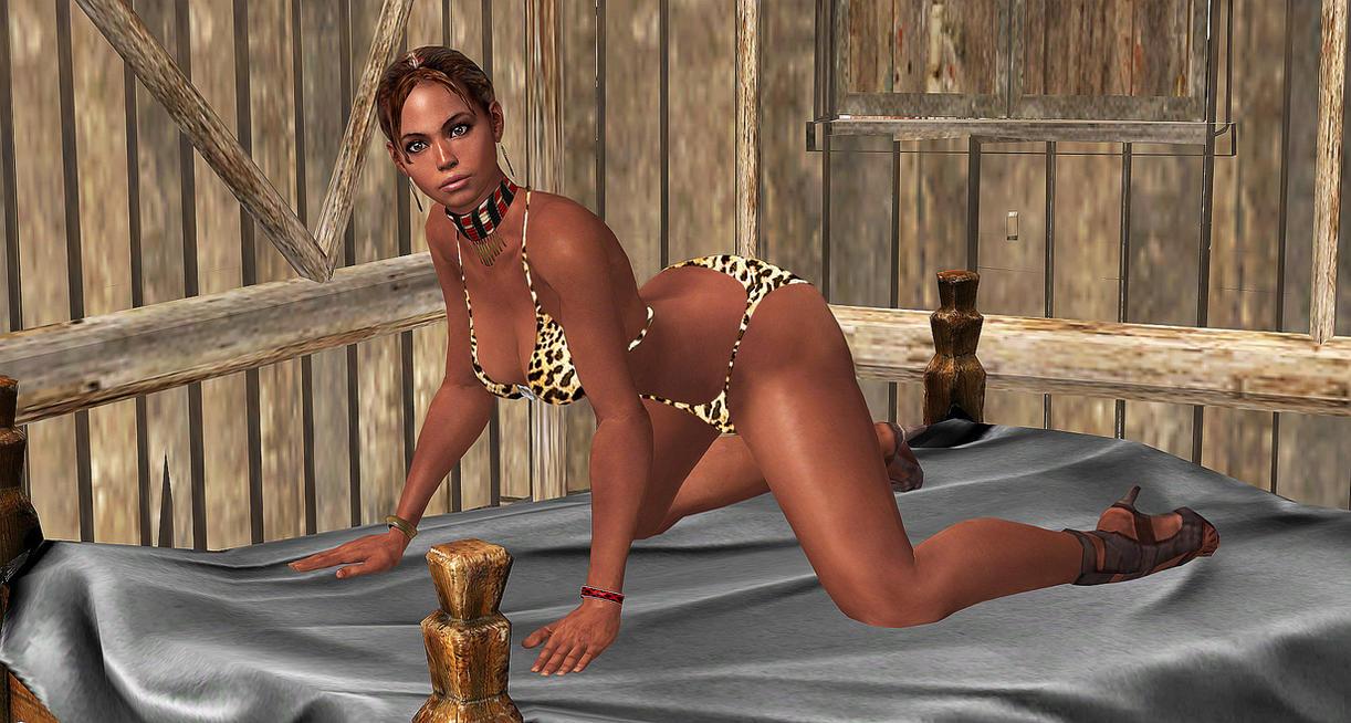 Sheva alomar nude model exploited video