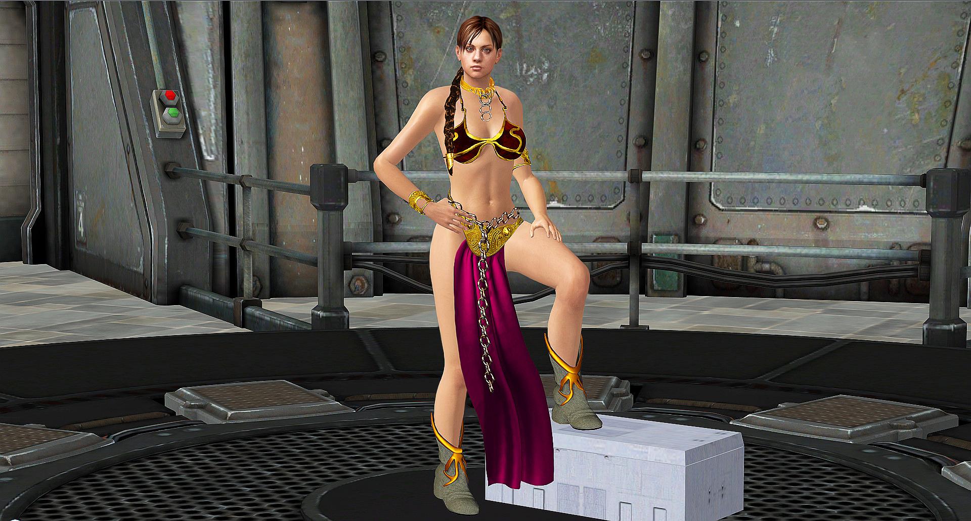 Jill SLAVE-LEIA POSE By Blw7920 On DeviantArt