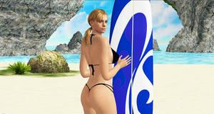Jill Valentine   SURFIN GIRL