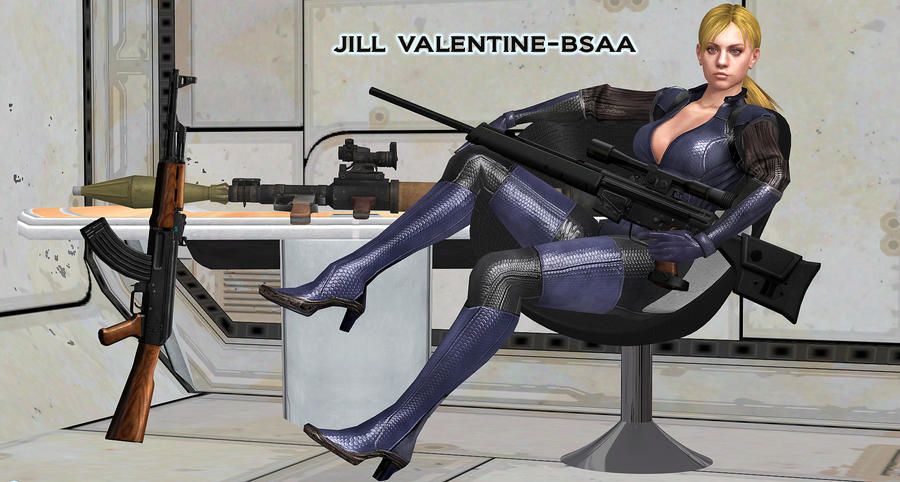 Jill Valentine    MISSION-BRIEFING by blw7920