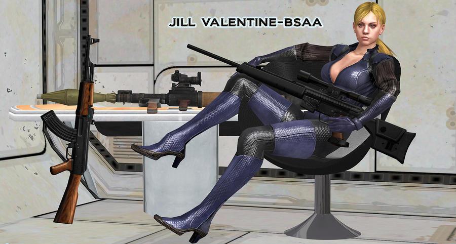 Jill Valentine    MISSION-BRIEFING by blw7920