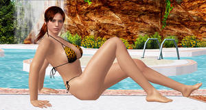 Claire Redfield     POOL-GODDESS