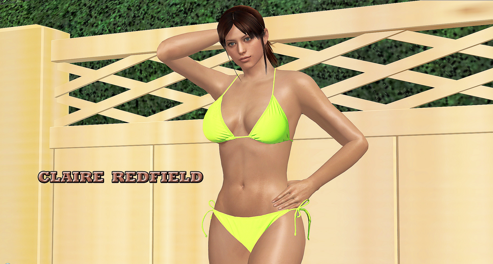 Claire Redfield BIKINI WP By Blw7920 On DeviantArt